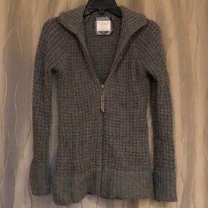 Old Navy zip up sweater coat, Gray